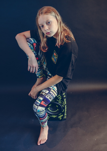 90s Mixtape Leggings - Love Sick London Collaboration