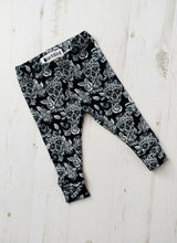 Monochrome Sugar Skull Leggings
