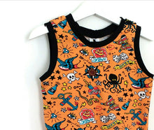 Old School Tattoo Vest