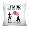 I Stand For The Flag Pillow with Insert