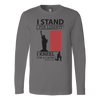 I Stand For Liberty Canvas Long Sleeve Tee