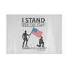 I Stand For The Flag Cutting Board