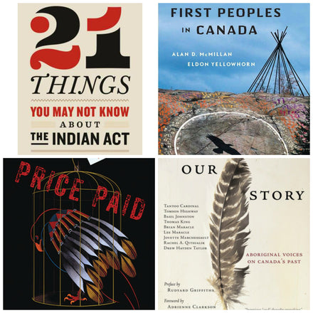 Canadian History Books by Indigenous Authors