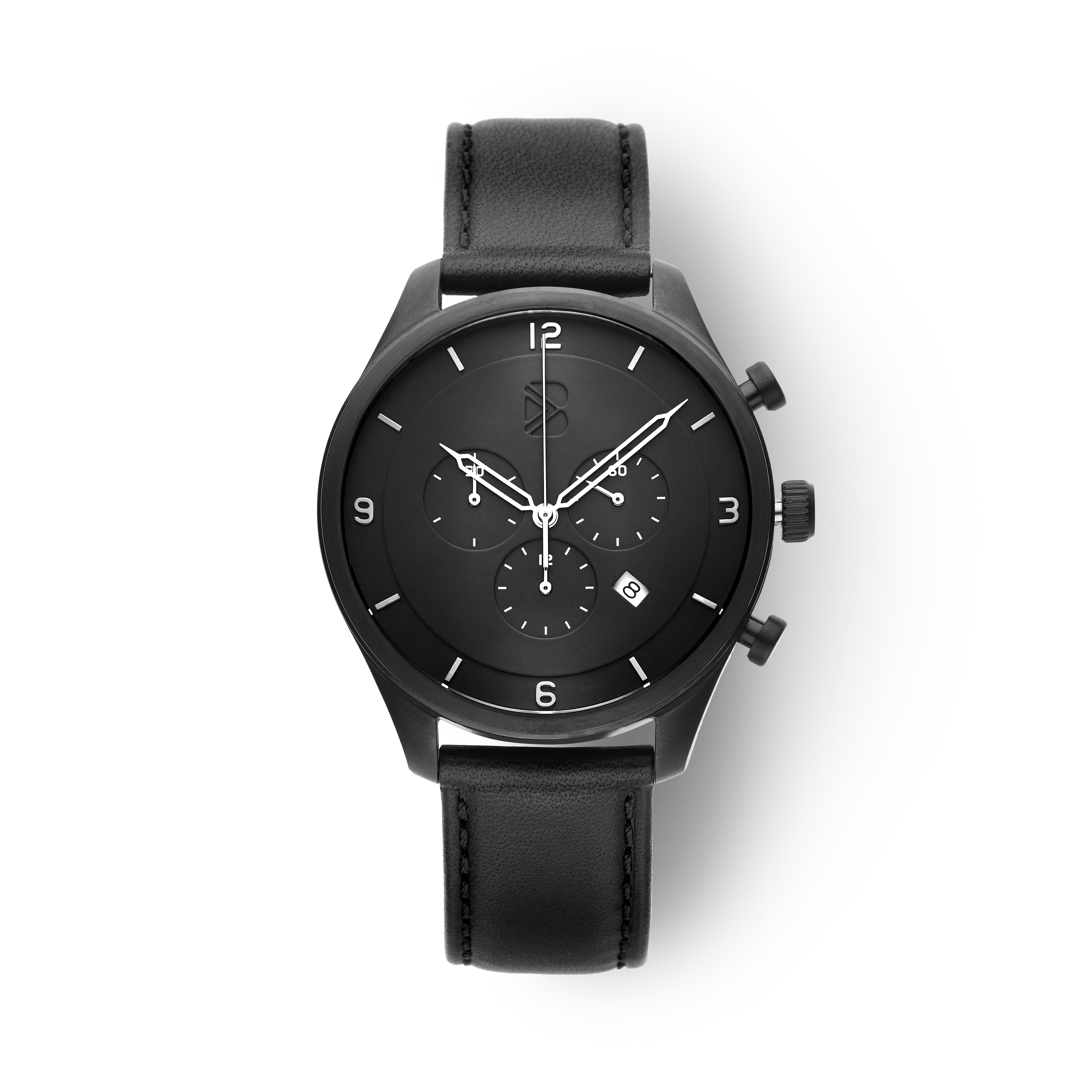 CHRONO GUNMETAL BLACK