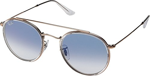 Ray-Ban Metal Unisex Aviator Sunglasses, Copper, 51 mm