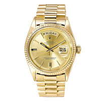 Rolex President automatic-self-wind mens Watch 1803 (Certified Pre-owned)