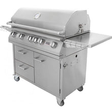 Load image into Gallery viewer, Lion 40-Inch Stainless Steel Freestanding Grill