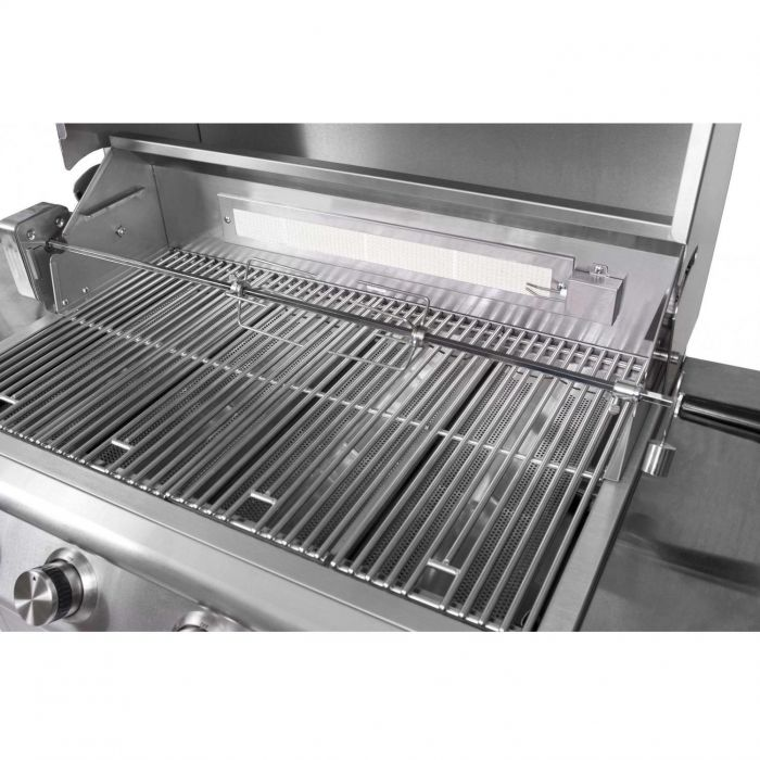 Blaze Rotisserie in SS for 5 burner Grills