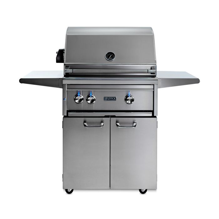 "27""  Freestanding Grill - 1 Trident™ w/ Rotisserie, NAT GAS"