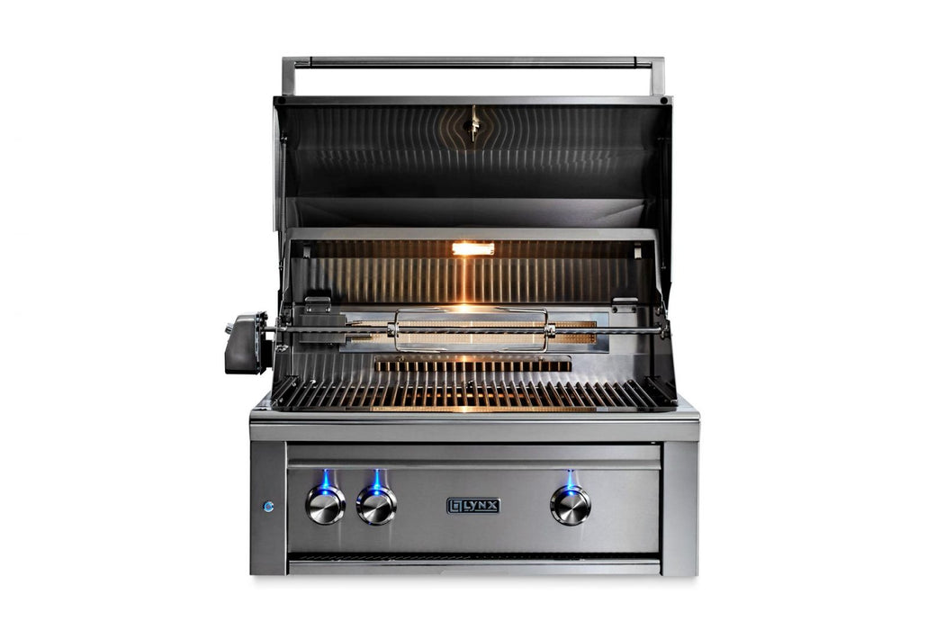 "30"" Built-In Grill - All Trident™ w/Rotisserie, LP GAS"