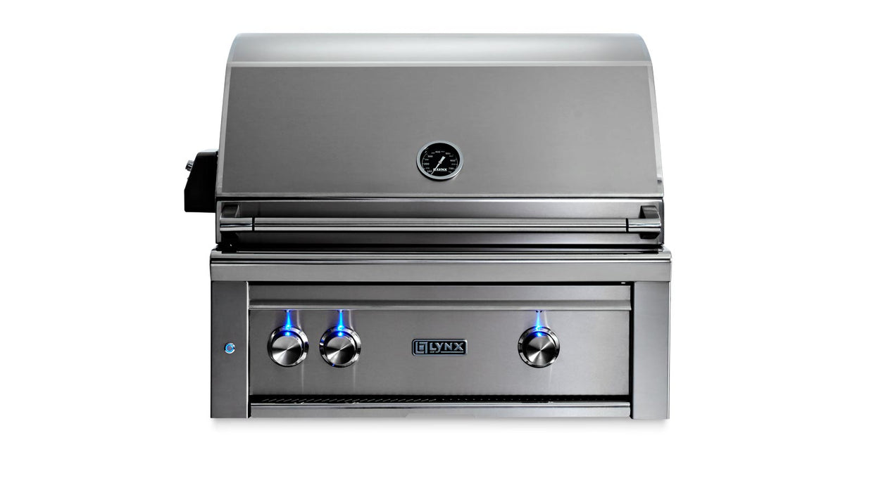 "30"" Built-In Grill - All Trident™ w/Rotisserie, NAT GAS"