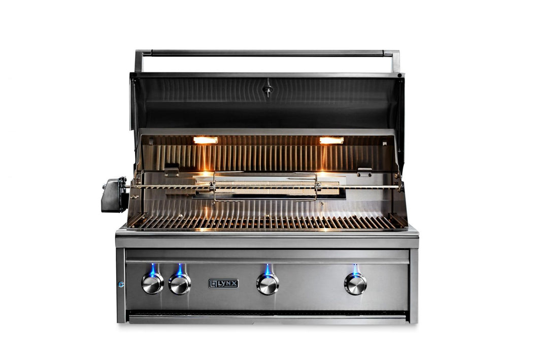 "36""  Built-In Grill w/ Rotisserie, NAT GAS"