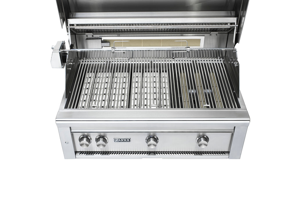 "36""  Built-In Grill - 1 Trident™ w/ Rotisserie, NAT GAS"