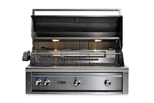 "Load image into Gallery viewer, Lynx 42"" Built-In Grill  - All Trident™ w/ Rotisserie, NAT GAS"