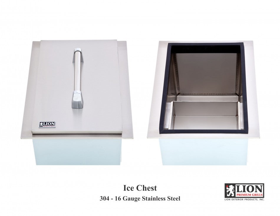 Lion Stainless Steel Ice Chest