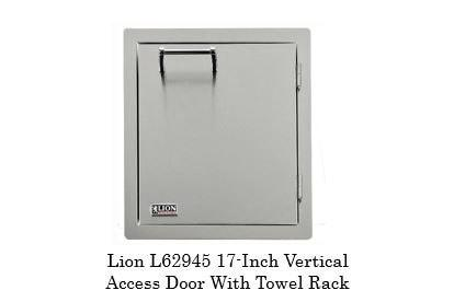 Lion Vertical Door with Towel Rack