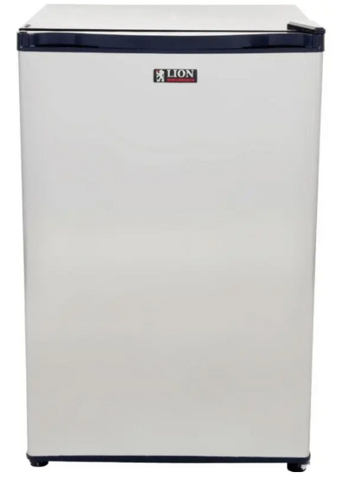Lion Refrigerator 4.5 Cubic Stainless Steel Front Door [2002]