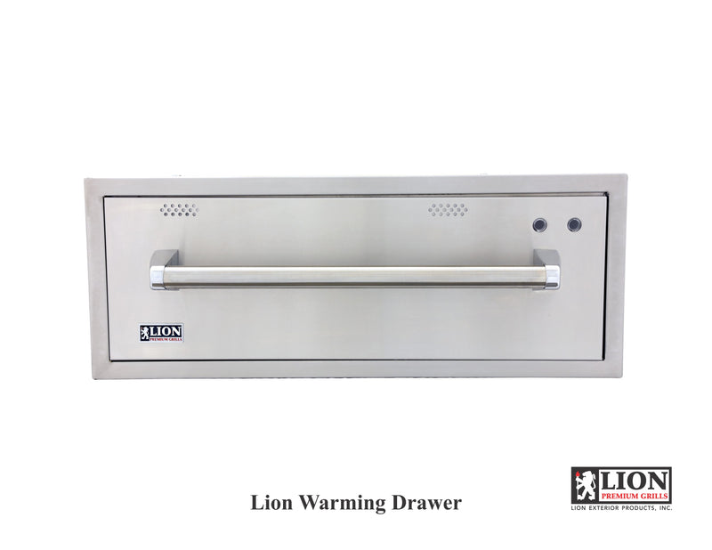 Lion Warming Drawer
