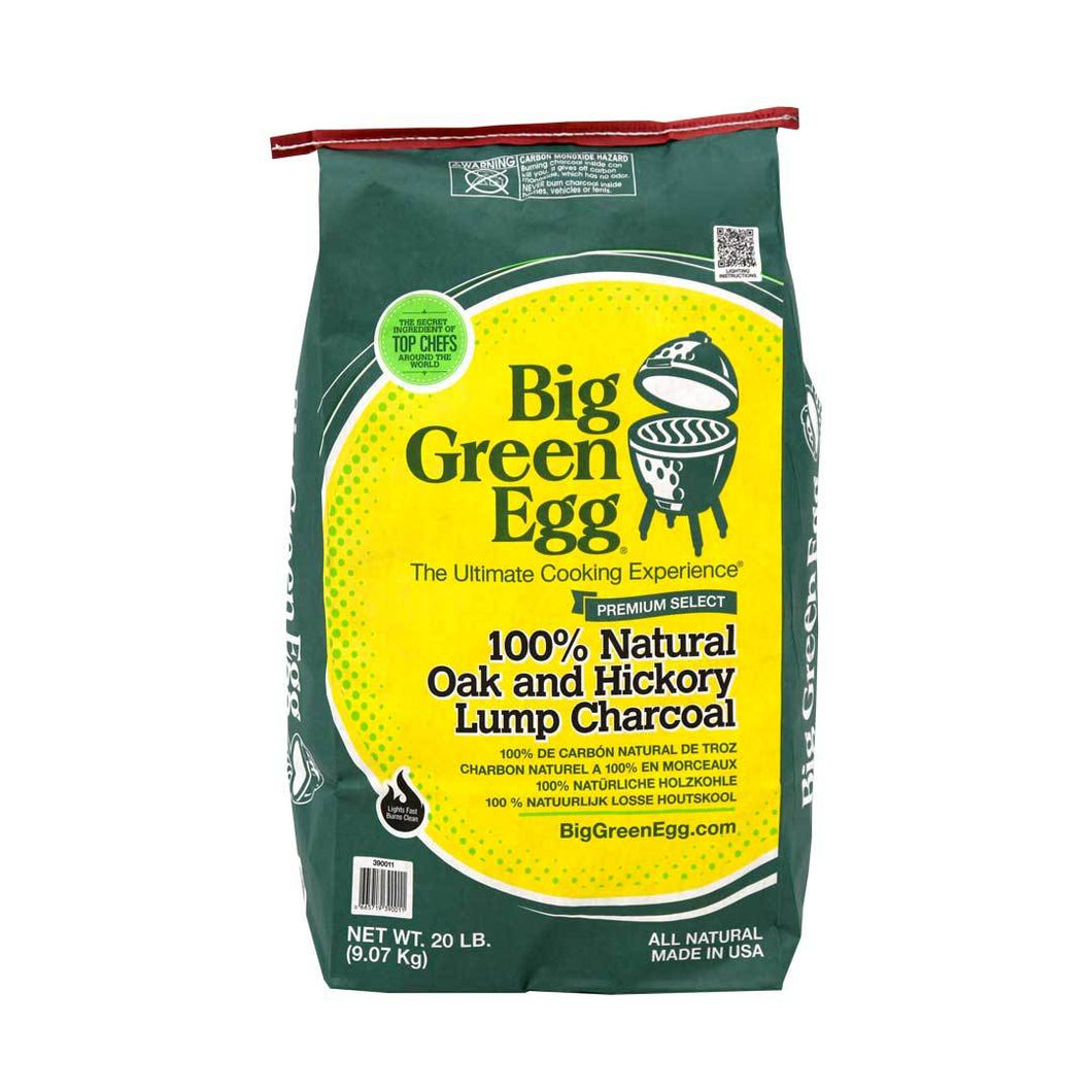 BGE 100% Natural Oak and Hickory Lump Charcoal 20lb