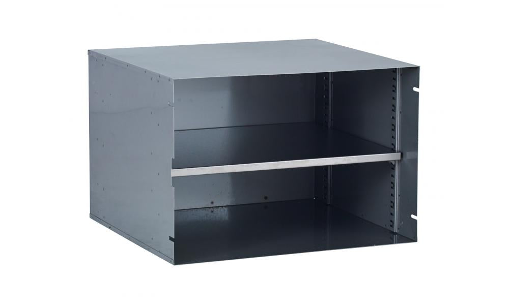 The Bull Double Door Pantry Insert Keeps Your Outdoor Kitchen Organized.