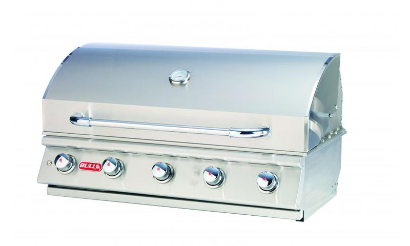 "The 38"" Renegade Grill is a 5 burner 75,000 BTU stainless steel built-in gas Barbecue."