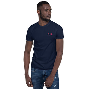 n+1 Embroidered Unisex T-Shirt