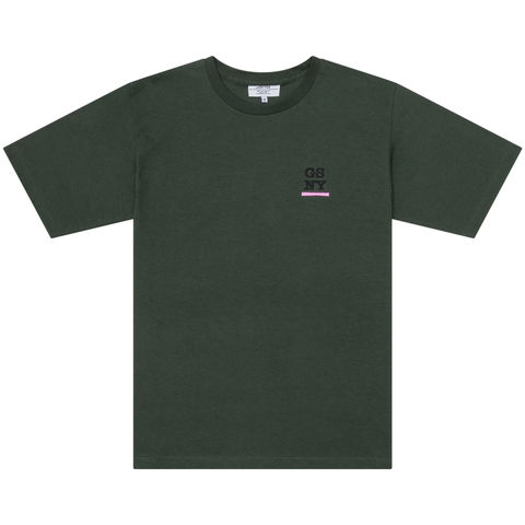 Forest Embroidered Tee