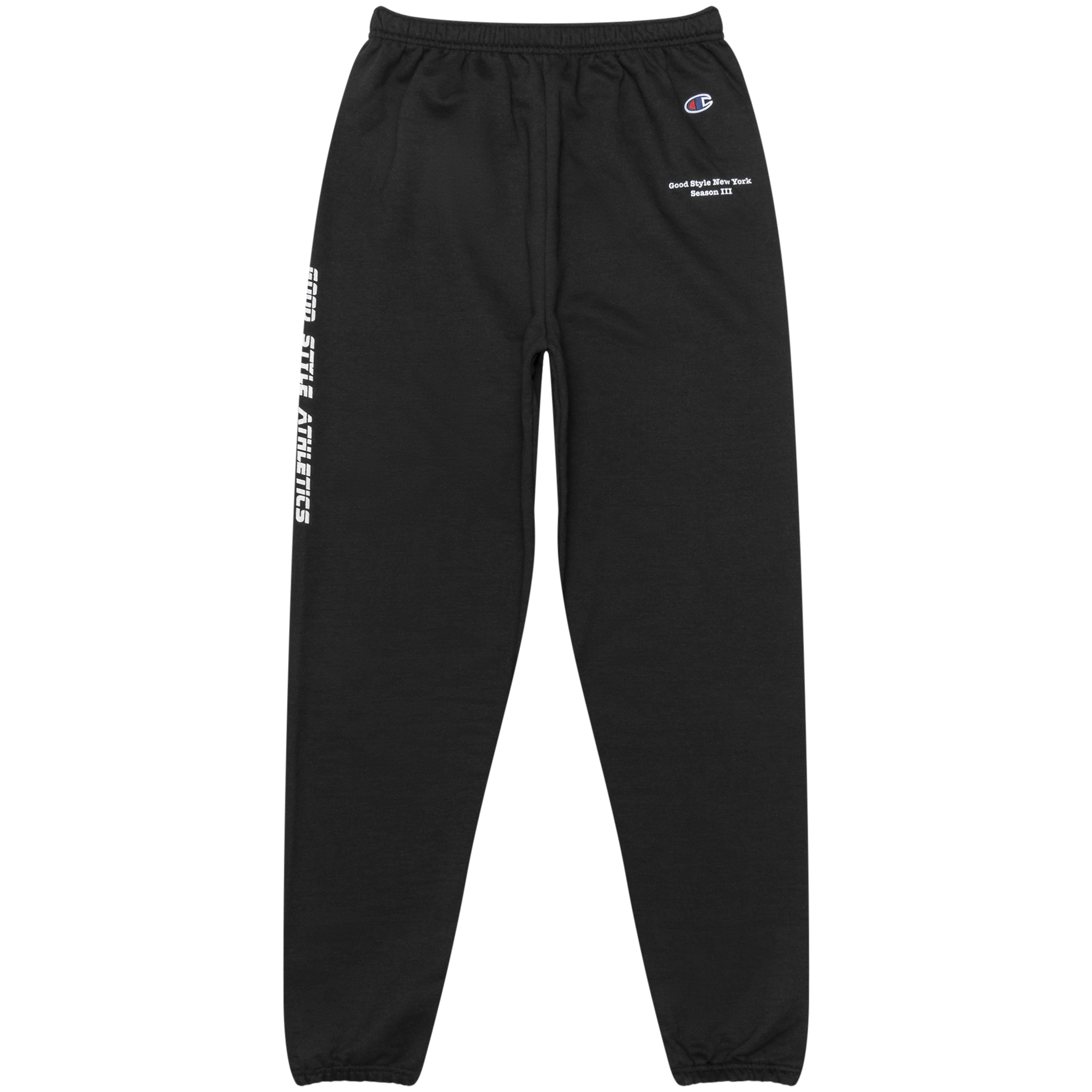 Black SSN 3 Sweatpant