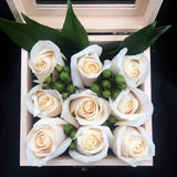 Winter collection rose flower box