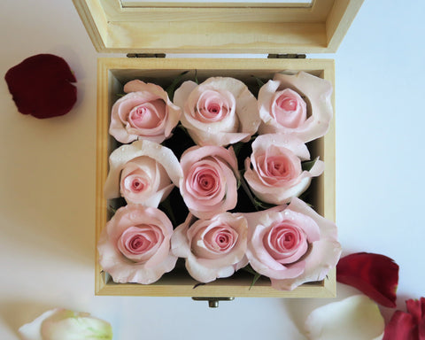 Box of pink roses for best valentine's day gift 2018 in Toronto