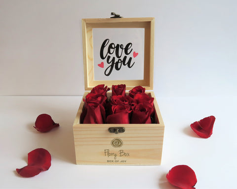 Red Roses Mini Box