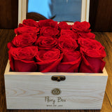 Pure Red Roses