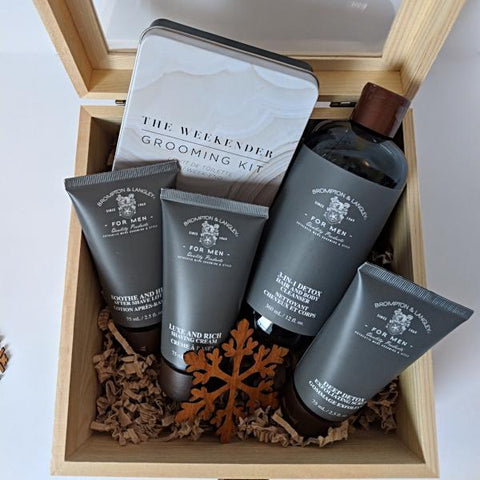 Shaving and grooming set best holiday gift box 2019 in Toronto