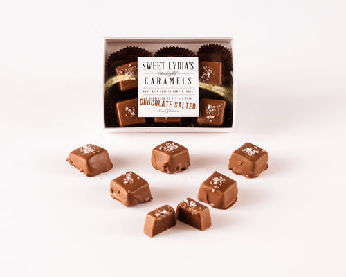Chocolate Covered Salted Caramels