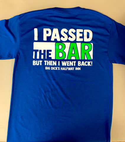 Passed The Bar Short Sleeve Blue