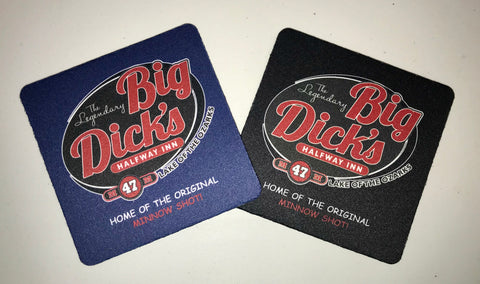 Big Dick's Neoprene Coaster