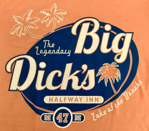 Big Dick's Womens Palm Logo Tee