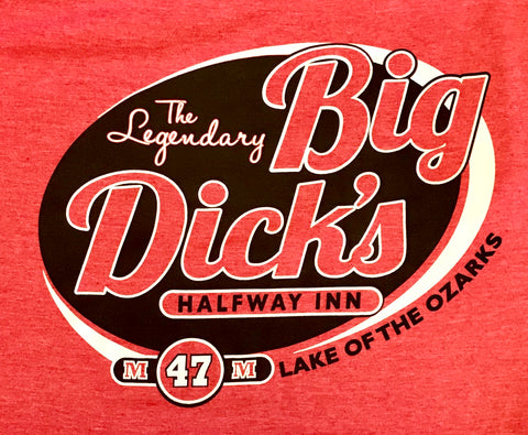 Big Dick's Softstyle Logo Tee