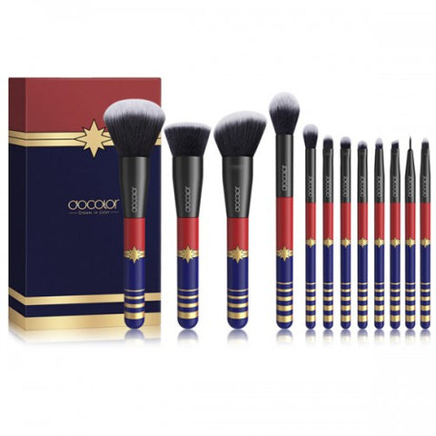 12 Pieces Starlight Goddess Makeup Brush Set - P1204 - Beautyboutique.no