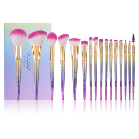 16 Pieces Fantasy Makeup Brush Set - DB1603 - Beautyboutique.no