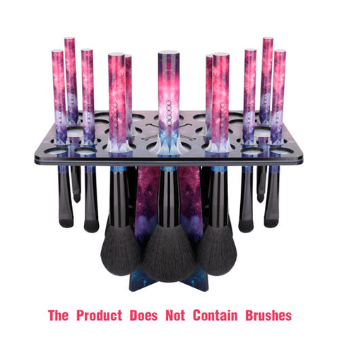 26 Mix Size Makeup Brush Holder Galaxy Stars - ZJ005 - Beautyboutique.no