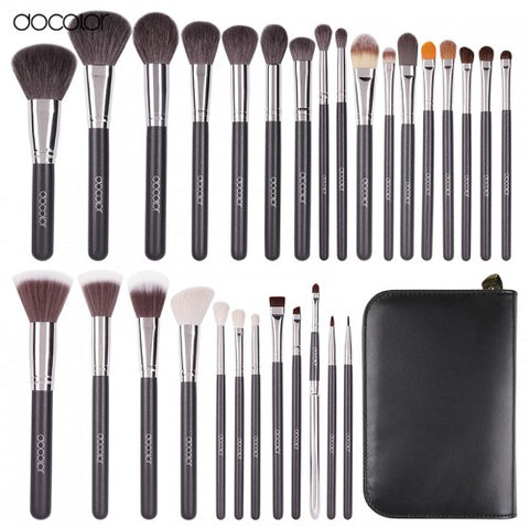 29 Pieces Professional Makeup Brushes Set - DA2901 - Beautyboutique.no