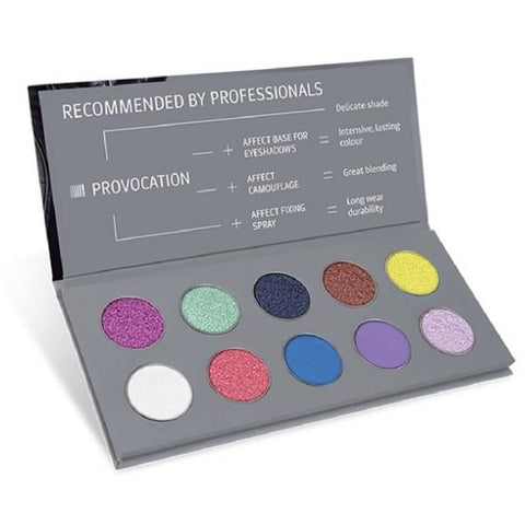 PRESSED EYESHADOW PALETTE - PROVOCATION - Beautyboutique.no