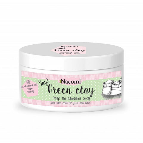 "GREEN CLAY - VEGAN  ""Face & Body Mask"" 65g - Beautyboutique.no"