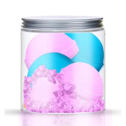 BOMB BATH SET - SUMMER IN GREECE & SWEET RASPBERRY CUPCAKE - Beautyboutique.no