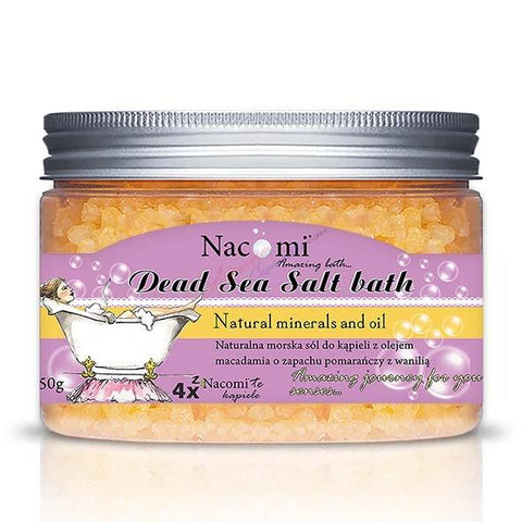 NATURAL SEA SALT - ORANGE & VANILIA - Beautyboutique.no