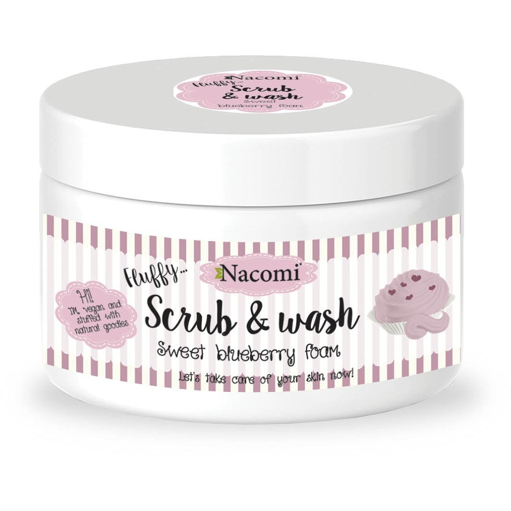 SCRUB & WASH FOAM - BLUEBERRY 180ml - Beautyboutique.no