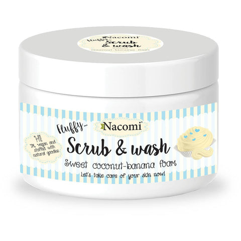 BODY SCRUB & WASH - SWEET COCONUT & BANANA FOAM - Beautyboutique.no