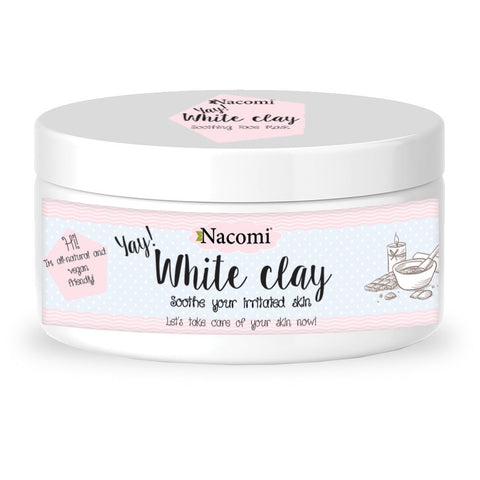 HVIT CLAY - VEGAN 50g - Beautyboutique.no