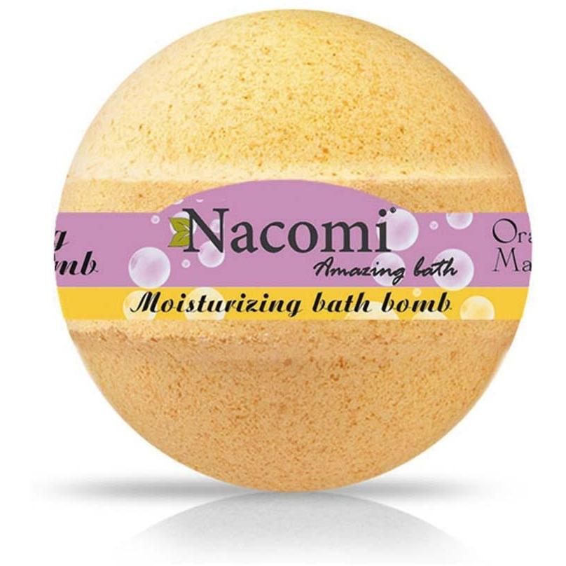 Fizzing Bath Bomb – Orange and Vanilla - Beautyboutique.no